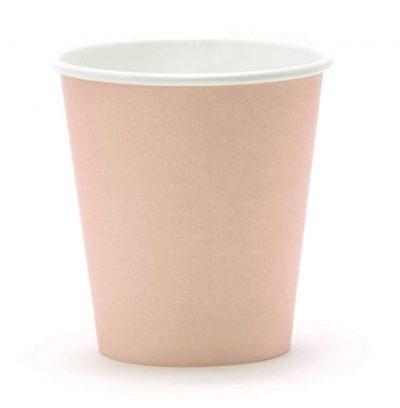 Ποτήρια πάρτυ ροζ της πούδρας (6 τεμ)