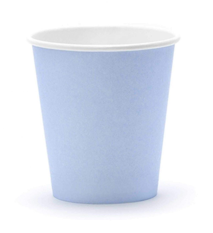 Ποτήρια πάρτυ παστέλ μπλε (6 τεμ)