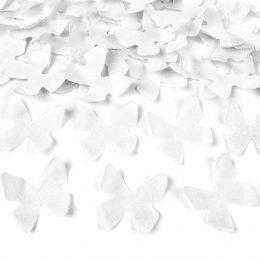 Κανονάκι με λευκό κονφετί Πεταλούδες