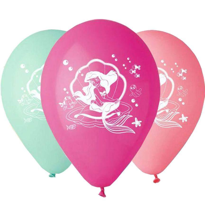 """12"""" Μπαλόνι μικρή γοργόνα Άριελ"""