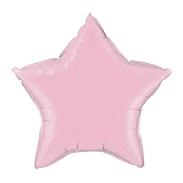 Μπαλόνι ροζ παστέλ αστέρι 18″