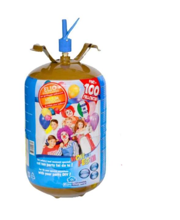 Φιάλη ήλιον για 100 μπαλόνια