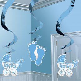 Διακοσμητικά οροφής Baby Boy (5 τεμ)