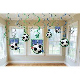 Διακοσμητικά οροφής Ποδόσφαιρο (12 τεμ)