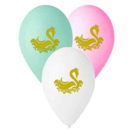 12″ Μπαλόνι τυπωμένο Κύκνος