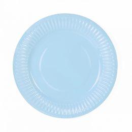 Πιάτα πάρτυ Γαλάζια (6 τεμ)