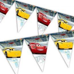 Τριγωνικά Σημαιάκια Cars Disney