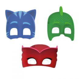 Χάρτινες Μάσκες Pj Masks (6 τεμ)