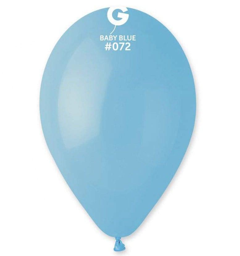 13″ baby blue λάτεξ μπαλόνι
