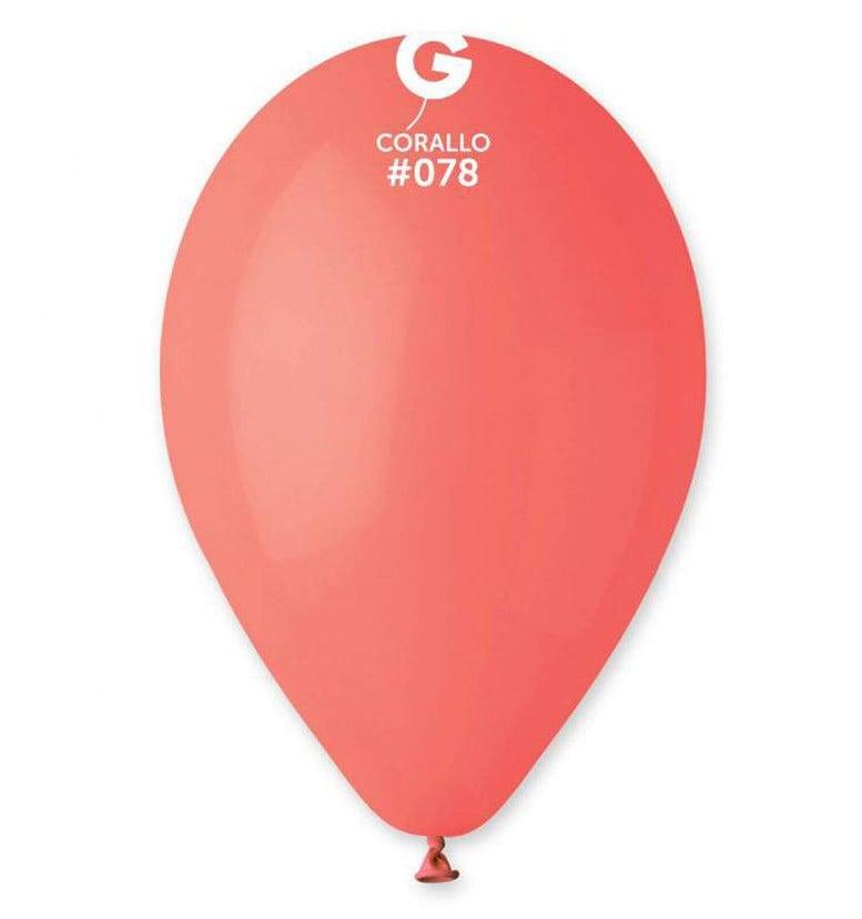 13″ Κοραλί λάτεξ μπαλόνι
