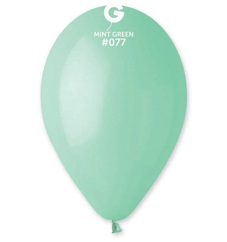 13″ μέντα λάτεξ μπαλόνι
