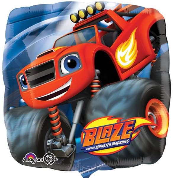 Μπαλόνι Blaze and the Monster Machines τετράγωνο