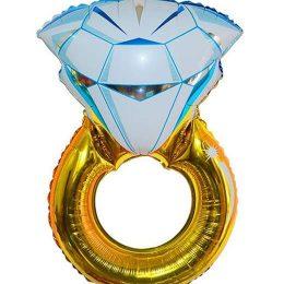Μπαλόνι χρυσό Mονόπετρο 97 εκ