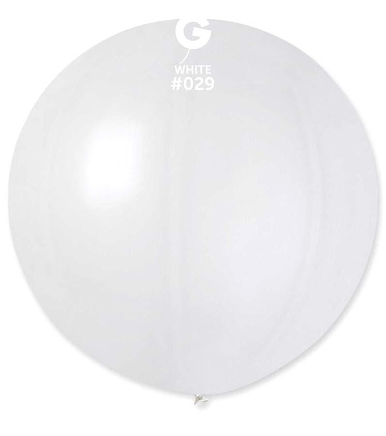 Τεράστιο Λευκό μπαλόνι που χωράει άνθρωπο