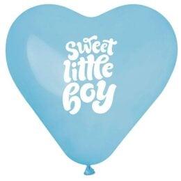 12″ Μπαλόνι Καρδιά Sweet Little Boy