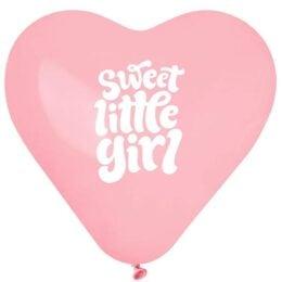 12″ Μπαλόνι Καρδιά Sweet Little Girl