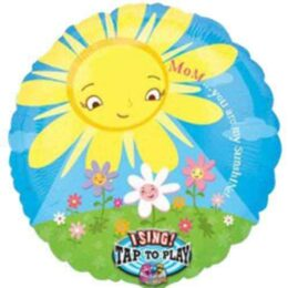"""Μπαλόνι Μουσικό """"Mom my sunshine"""" 45 εκ"""