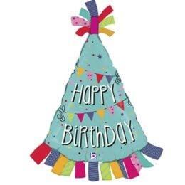 """Μπαλόνι Καπέλο """"Happy Birthday"""" 85 εκ"""