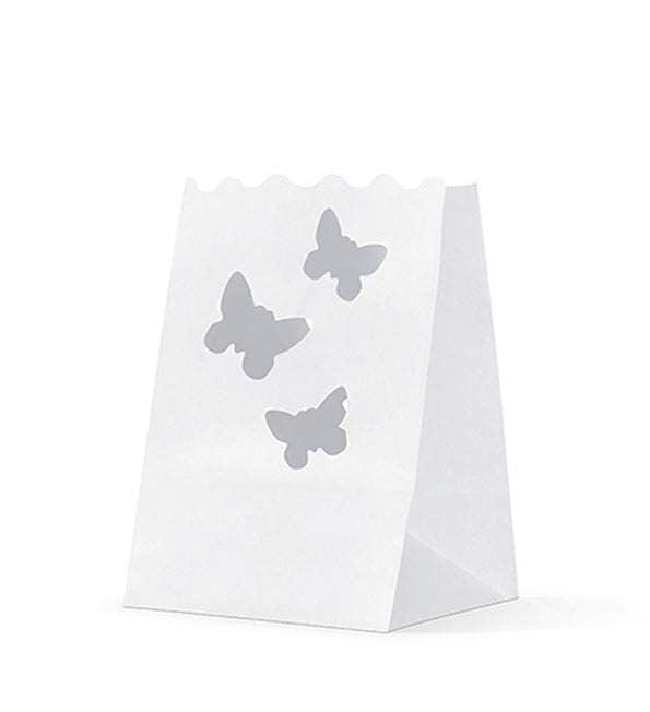 Φαναράκι για κεράκια με πεταλούδες