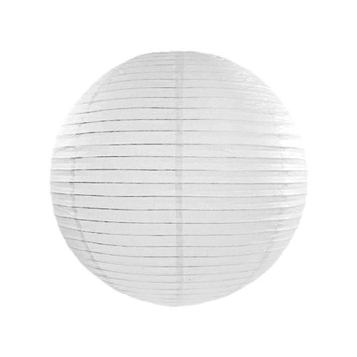 Άσπρο διακοσμητικό χάρτινο φαναράκι