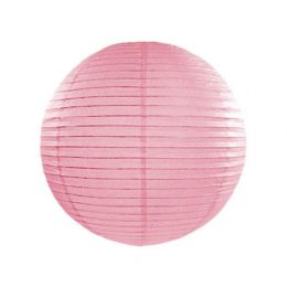 Ροζ διακοσμητικό χάρτινο Φαναράκι