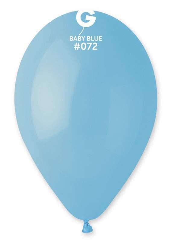 "13"" Baby Blue λάτεξ μπαλόνι"