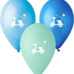 12″ Μπαλόνι τυπωμένο Βέσπα
