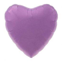 """Μπαλόνι καρδια 18"""" Λιλά"""