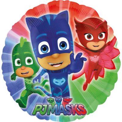 Μπαλόνι PJ Masks στρογγυλό 45 εκ