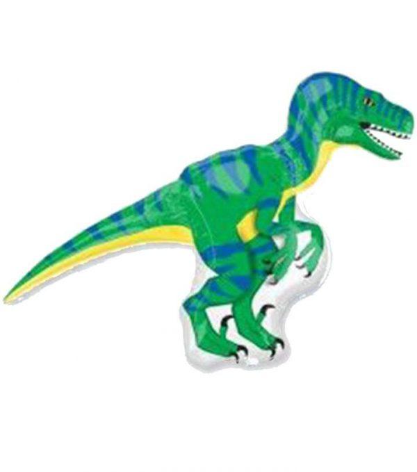 Μπαλόνι Δεινόσαυρος πράσινος Βελοκιραπτορ