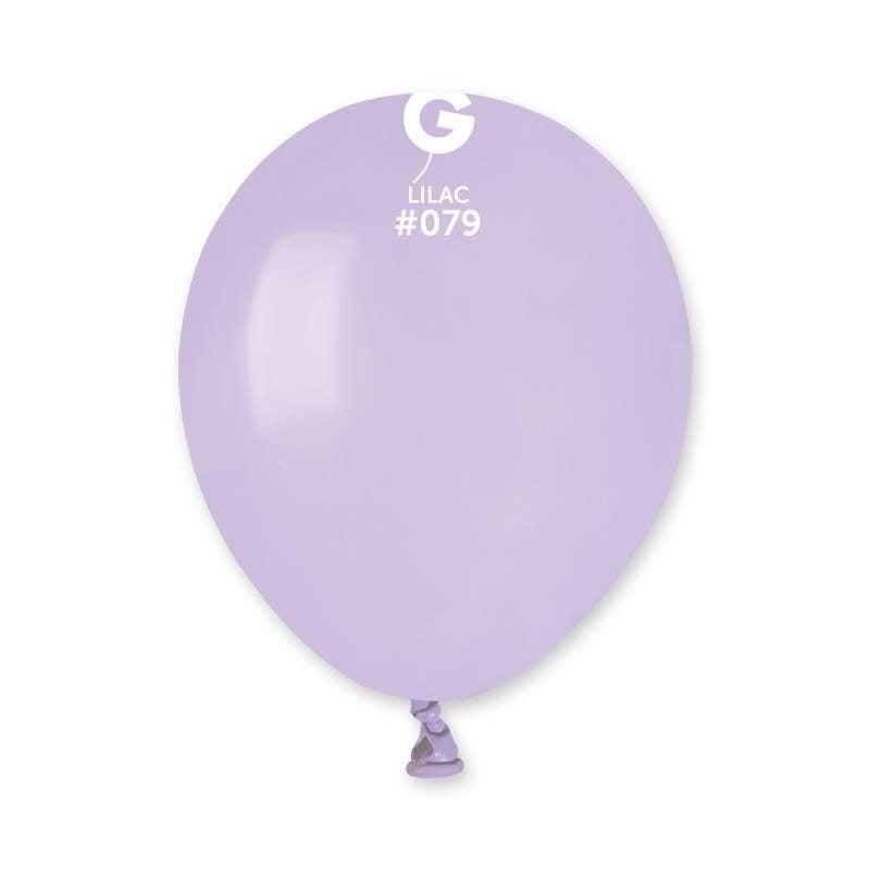 """5"""" Λιλά λάτεξ μπαλόνι"""