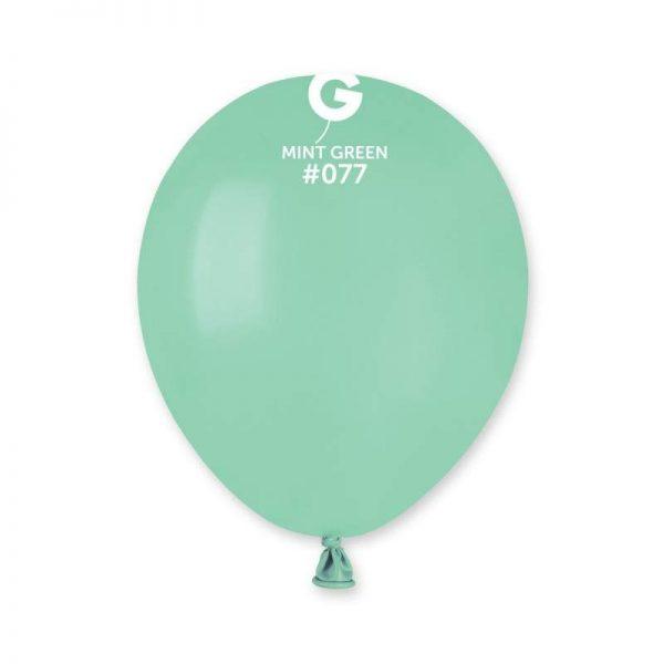 """5"""" Μέντα λάτεξ μπαλόνι"""