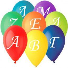 12″ Μπαλόνια Ελληνική Αλφαβήτα (24 τεμ)