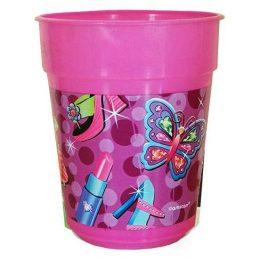 Ποτήρι πλαστικό Glamour girl (1 τεμ)
