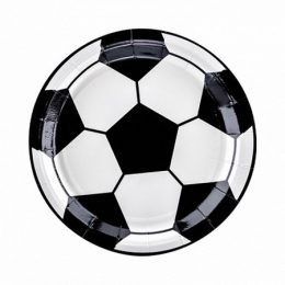 Πιάτα πάρτυ μπάλα ποδοσφαίρου