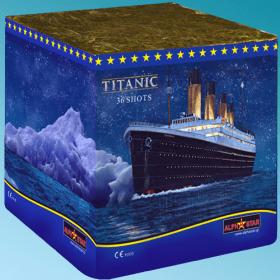 Πυροτεχνήματα 36 βολών Titanic βεγγαλικά