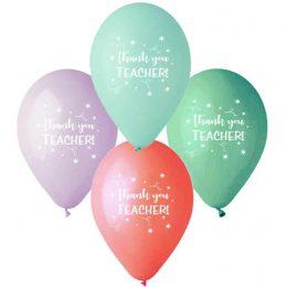 """12"""" Μπαλόνι Thank you Teacher"""