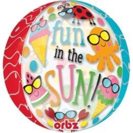 Μπαλόνι Fun in the Sun ORBZ 40 εκ
