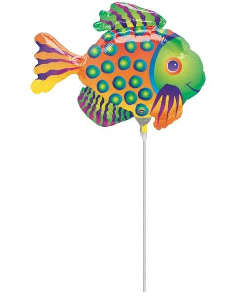 Μπαλόνι μικρό Τροπικό Ψαράκι φουσκωμένο