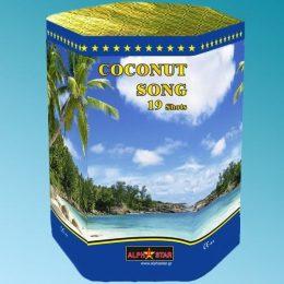 Πυροτεχνήματα 19 βολών Coconut song