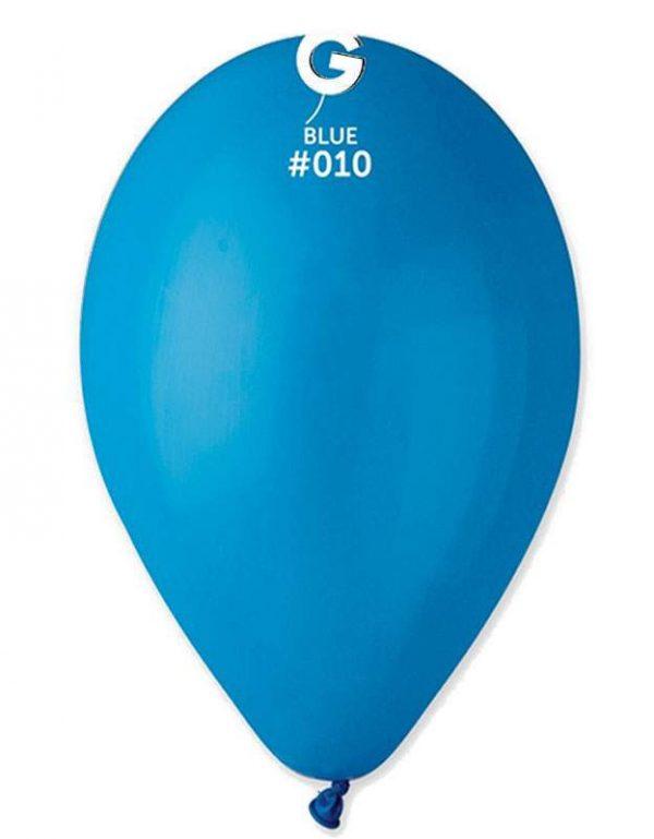 """12"""" Μπλε λάτεξ μπαλόνι"""