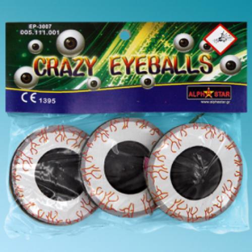 Τρελό μάτι πυροτέχνημα (3 τεμ)