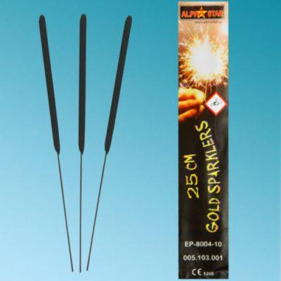 """10"""" Ιριδίζοντα Sticks Sparklers (10 τεμ)"""