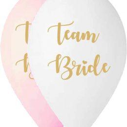 12″ Μπαλόνι τυπωμένο μπάτσελορ Team Bride