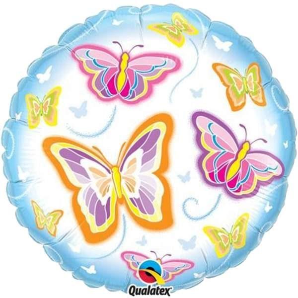 Μπαλόνι με πεταλουδίτσες
