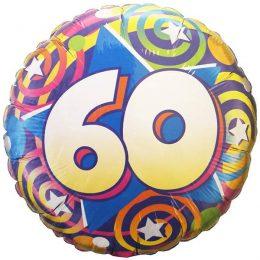 Μπαλόνι αριθμός 60 για γενέθλια 45 εκ