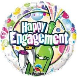 Μπαλόνι Happy Engagement Σαμπάνια 45 εκ