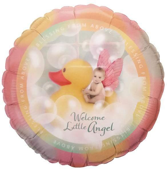 Μπαλόνι γέννησης Welcome Little Angel 45 εκ