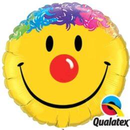 Μπαλόνι Smile Face κλόουν 91 εκ