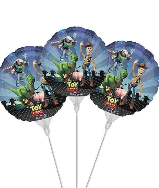Μπαλόνι με καλαμάκι Toy Story (3 τεμ)